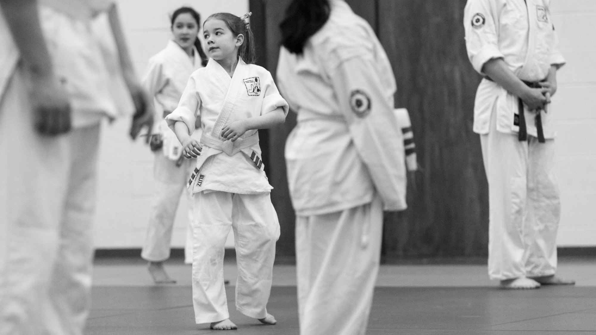 martial arts aikido class with Children in Dublin