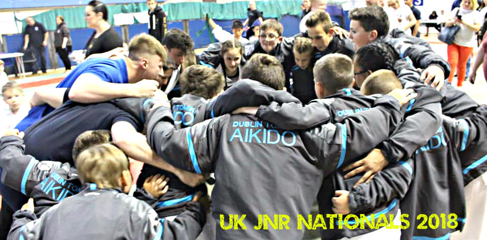 Martial Arts Dublin Team huddle - DTA