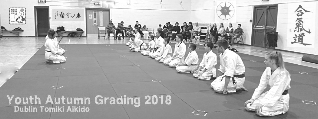 young people martial arts class grading examinations