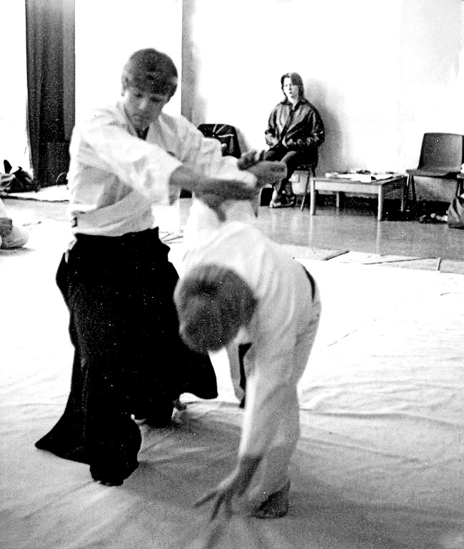 shaun hoddy age 17 practicing Aikido