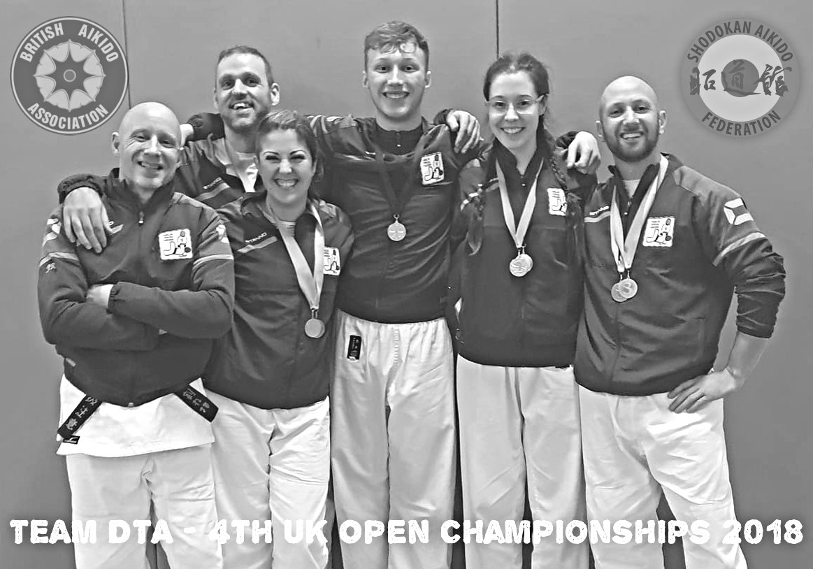 4th UK Open Championships 2018 - team DTA